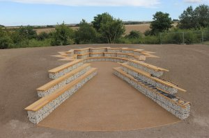 Press release - Exciting new amphitheatre being built for Chiltonvillage community
